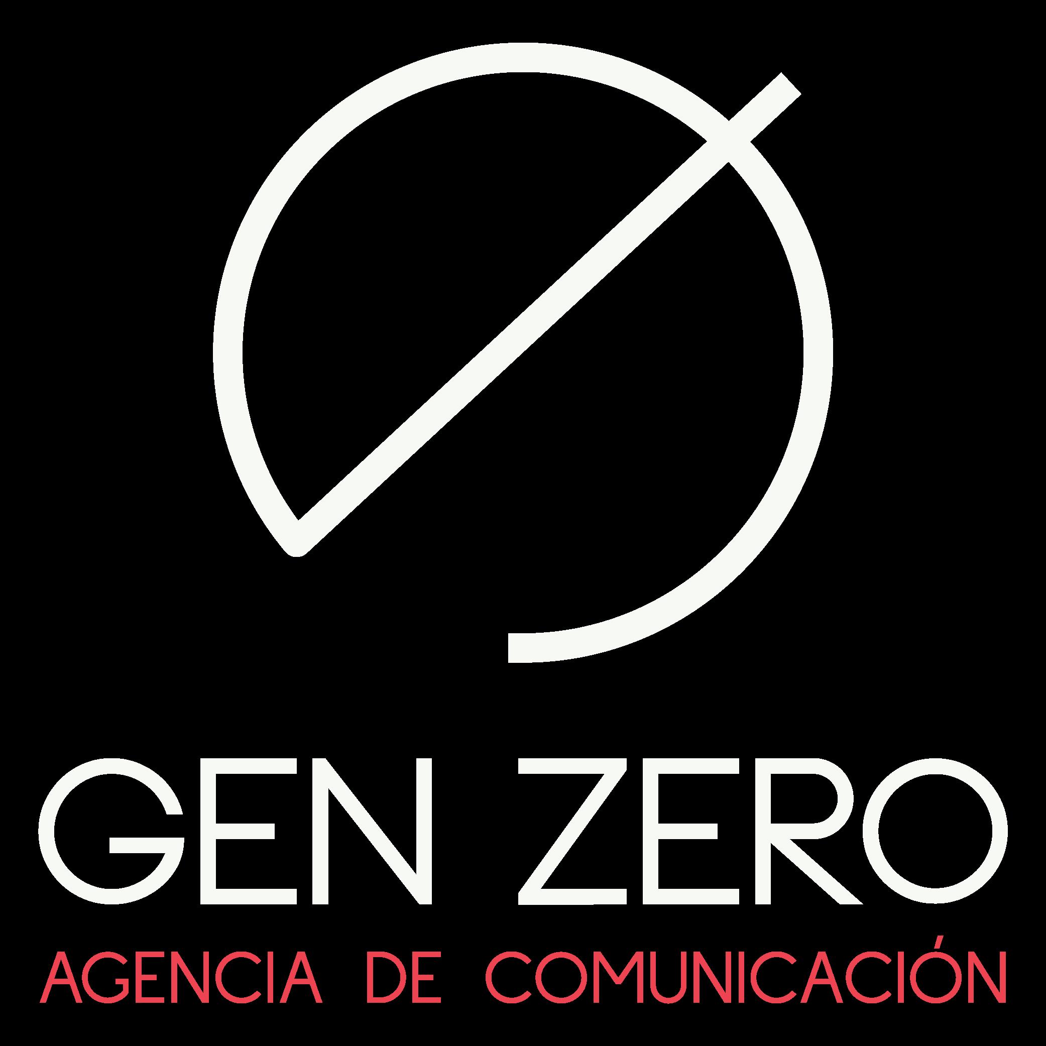 logo gen zero agencia comunicacion digital