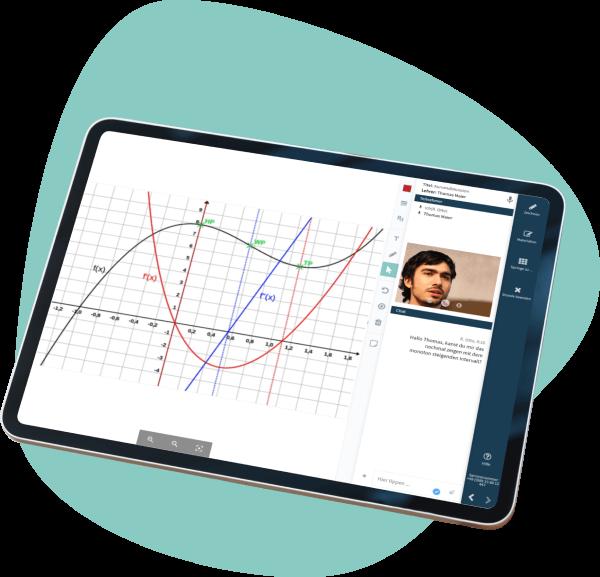 Online Nachilfe im virtuellen Klassenzimmer
