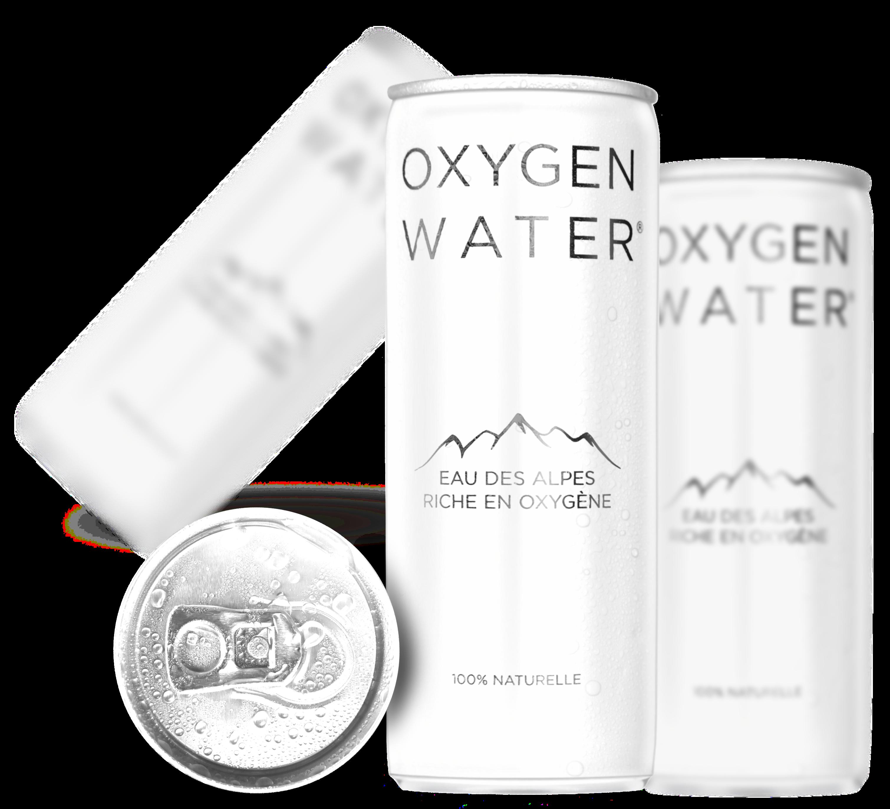 Eau Des Alpes Riche En Oxygène