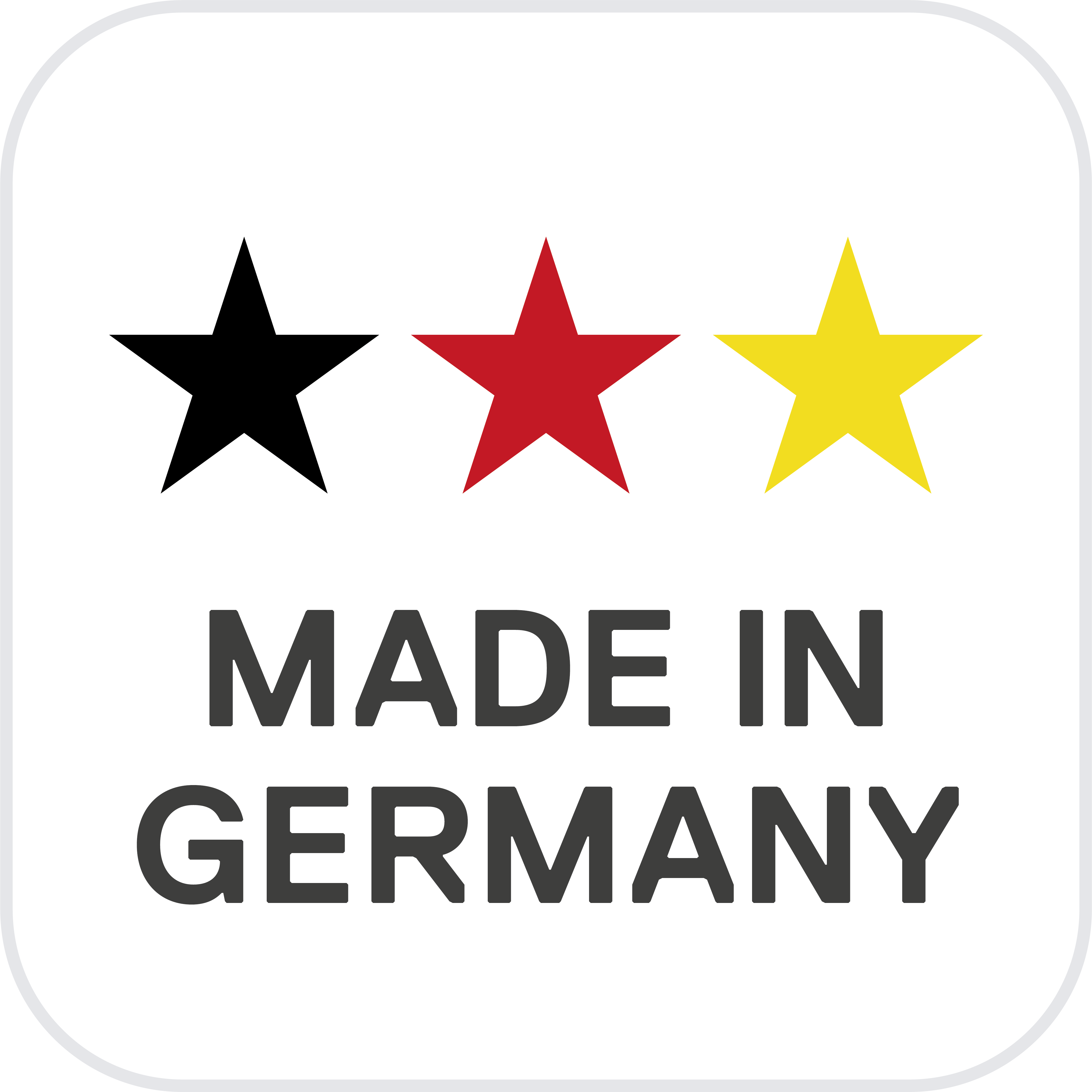 Hymer Made in Germany logo