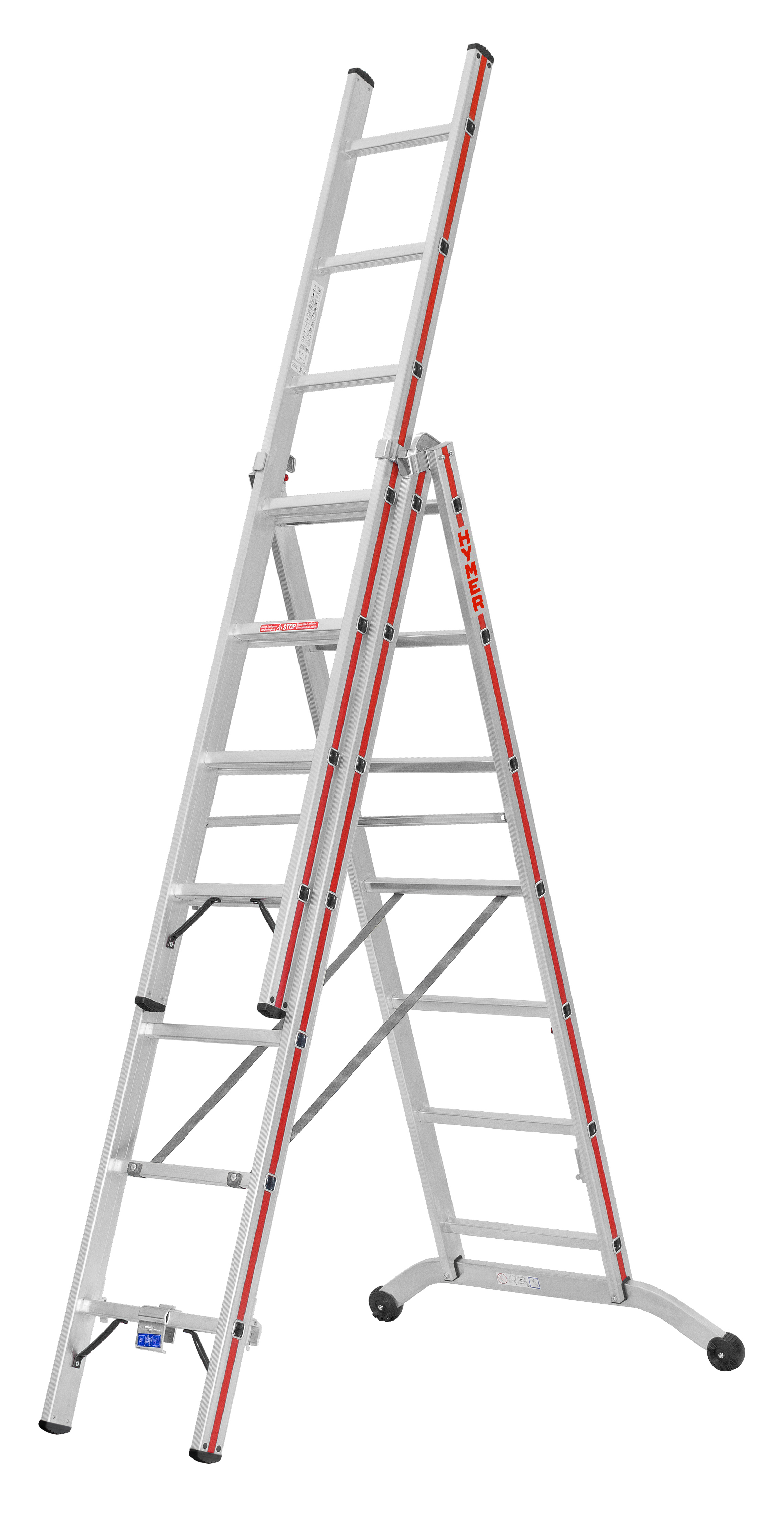 Hymer 6047 combination ladder