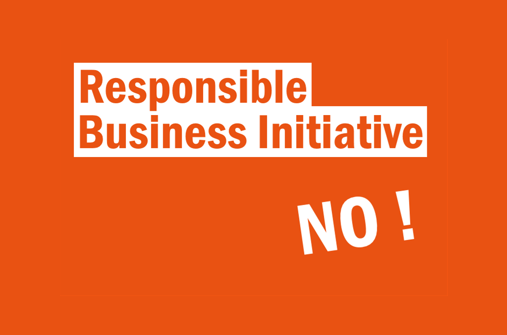 Position Statement: Responsible Business Initiative