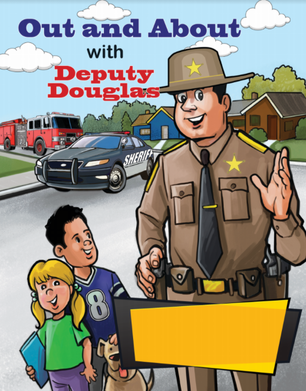 Sheriff Coloring Book