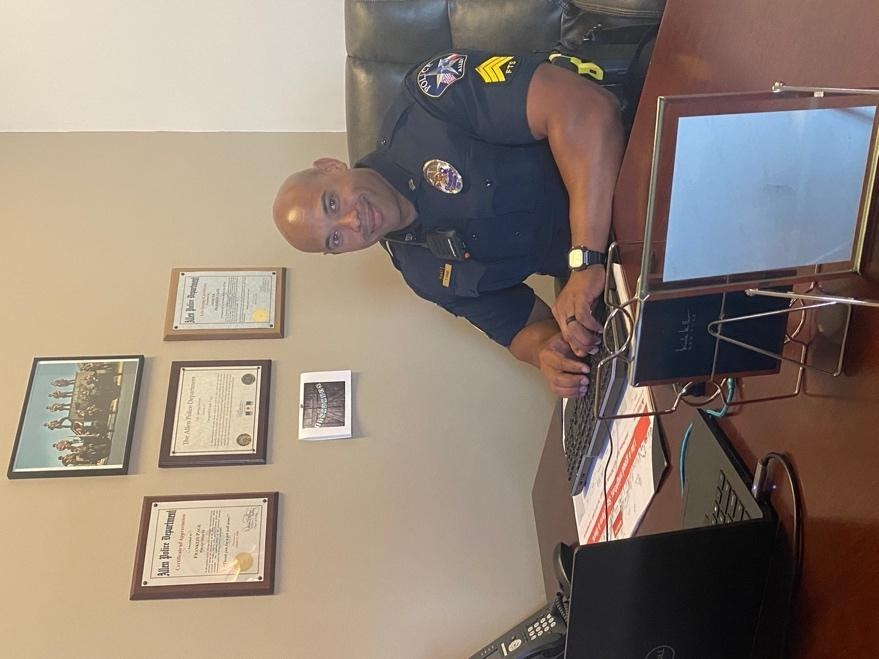 Sergeant Franklin Page of the Allen Police Department