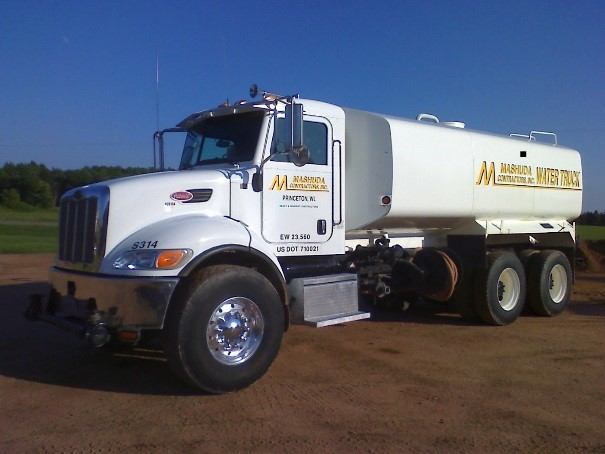 Peterbilt Dust Control Truck