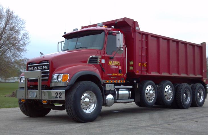 Tri-Axle Dump Truck