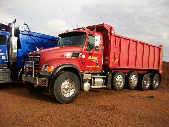 Mack Quad-Axle Dump Truck