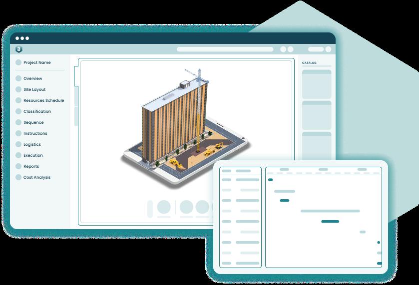 cmBuilder UI simplified model