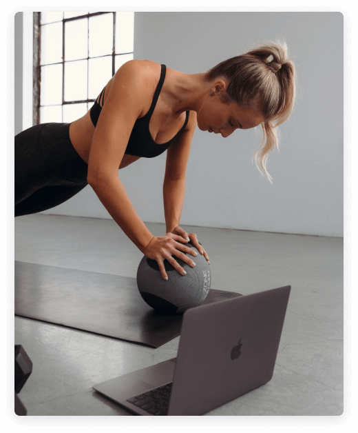 ARINA live online fitness community