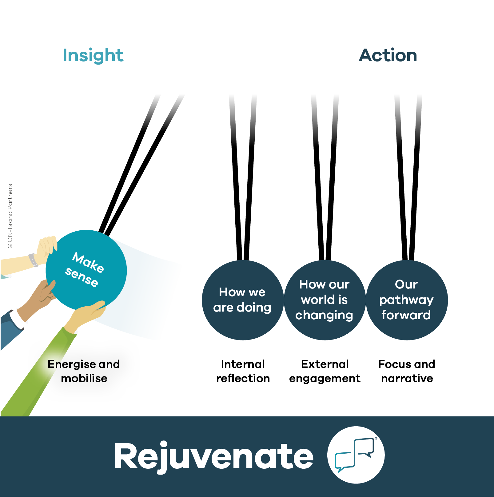 Rejuvenate model - insight into action
