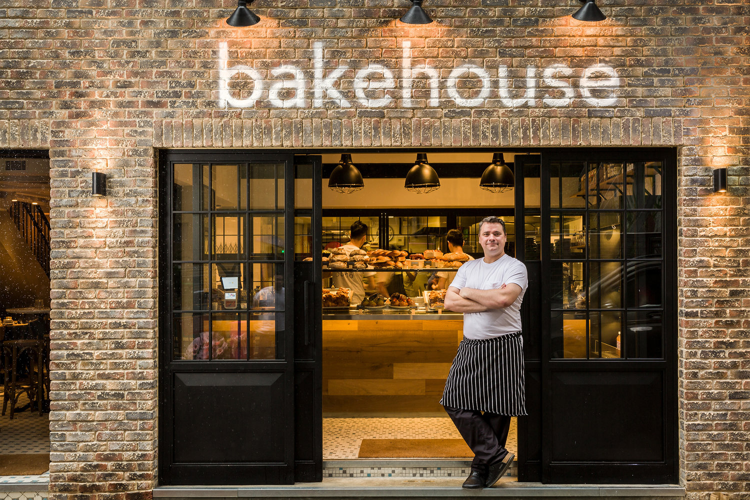 Bakehouse entry with Gregoire Michaud