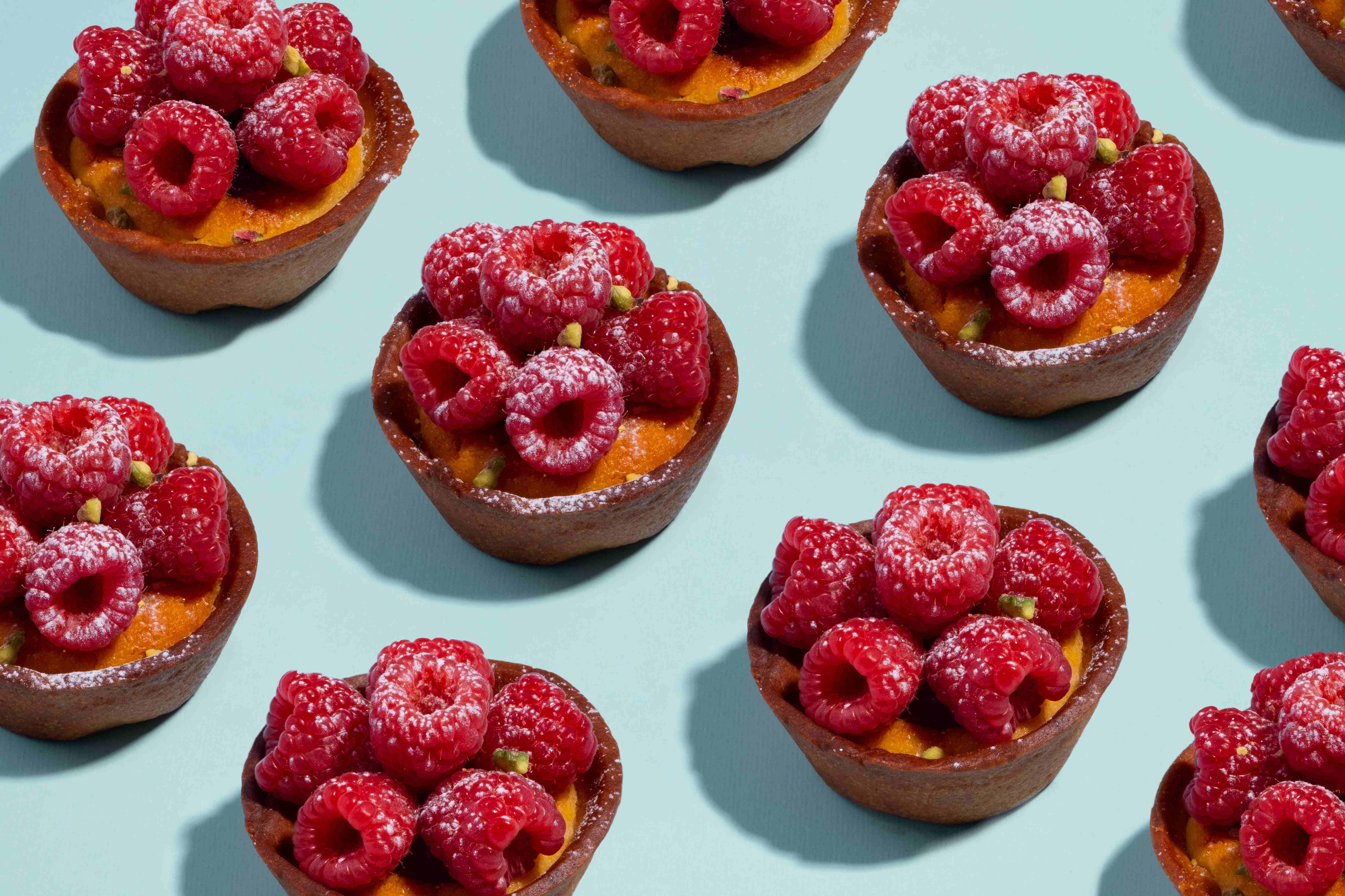 Bakehouse raspberry frangipane tart