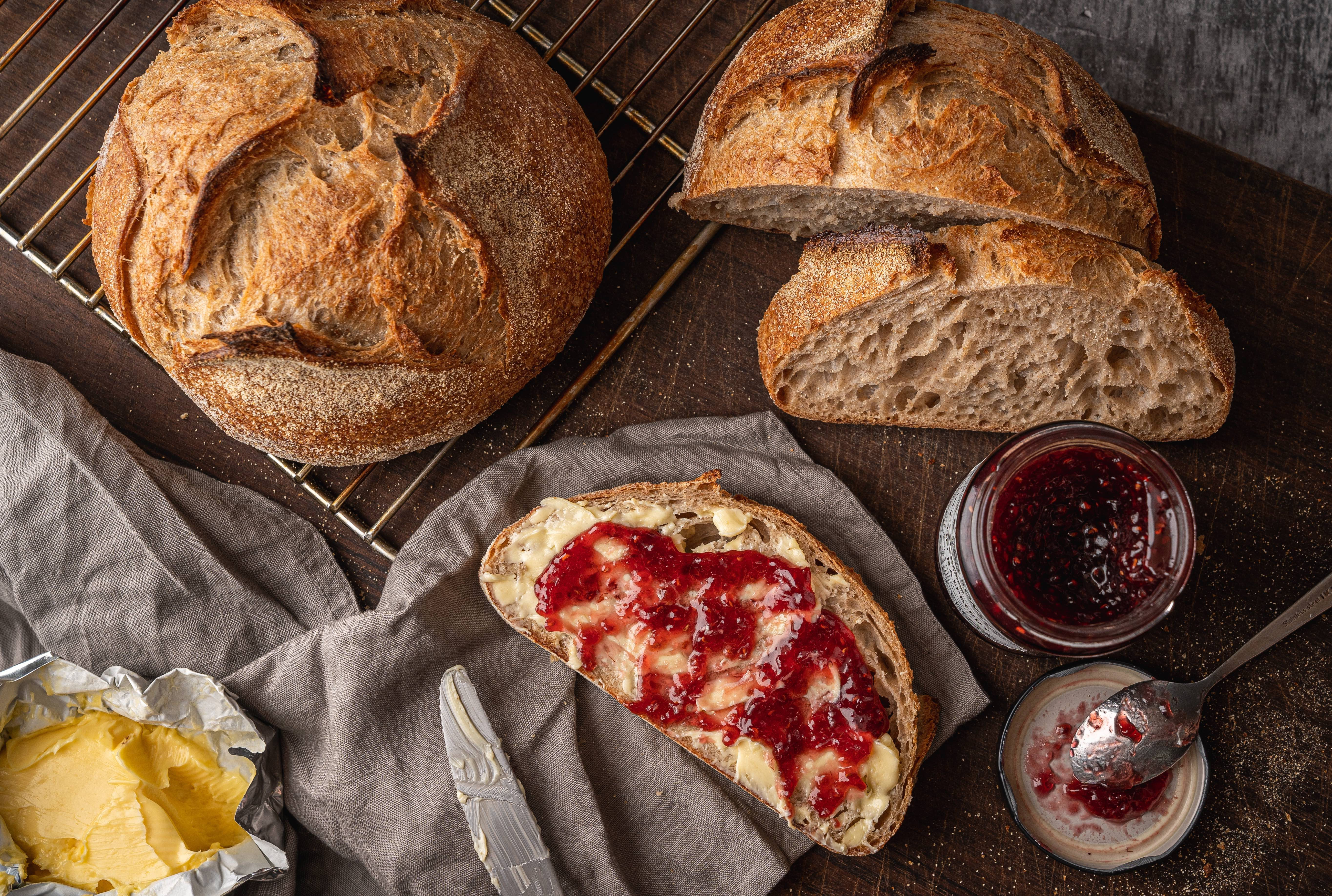 Bakehouse Bread and Jam