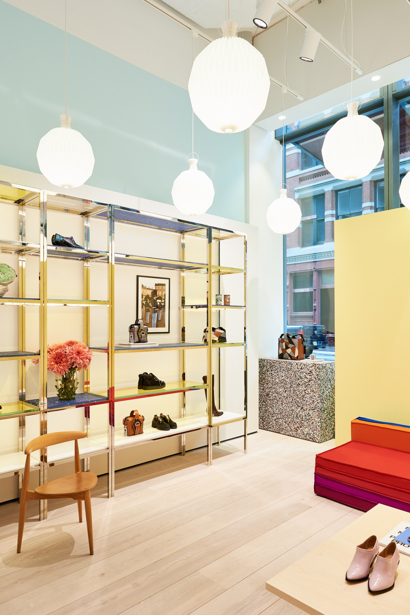 Ganni Sustainable store   The why, wow and how of sustainability in Visual Merchandising   Studio Rêver   Design Blog