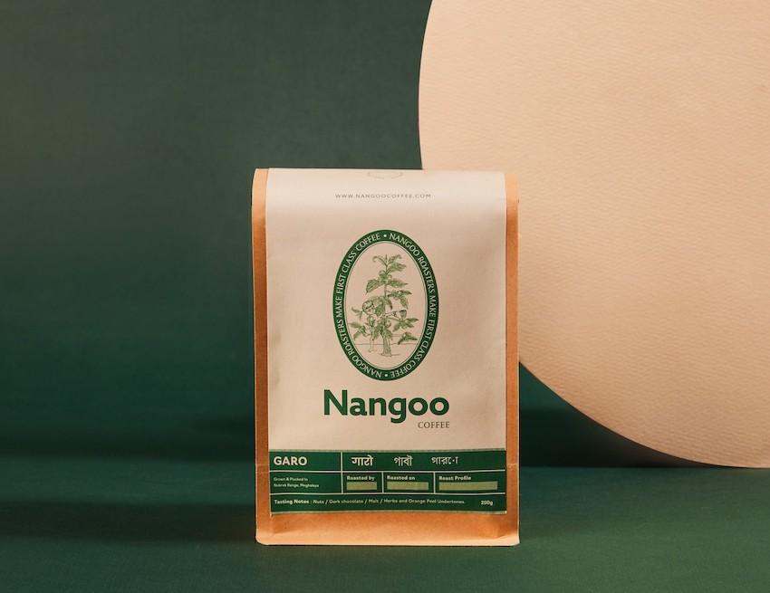 Product styling a brand photoshoot for nangoo coffee