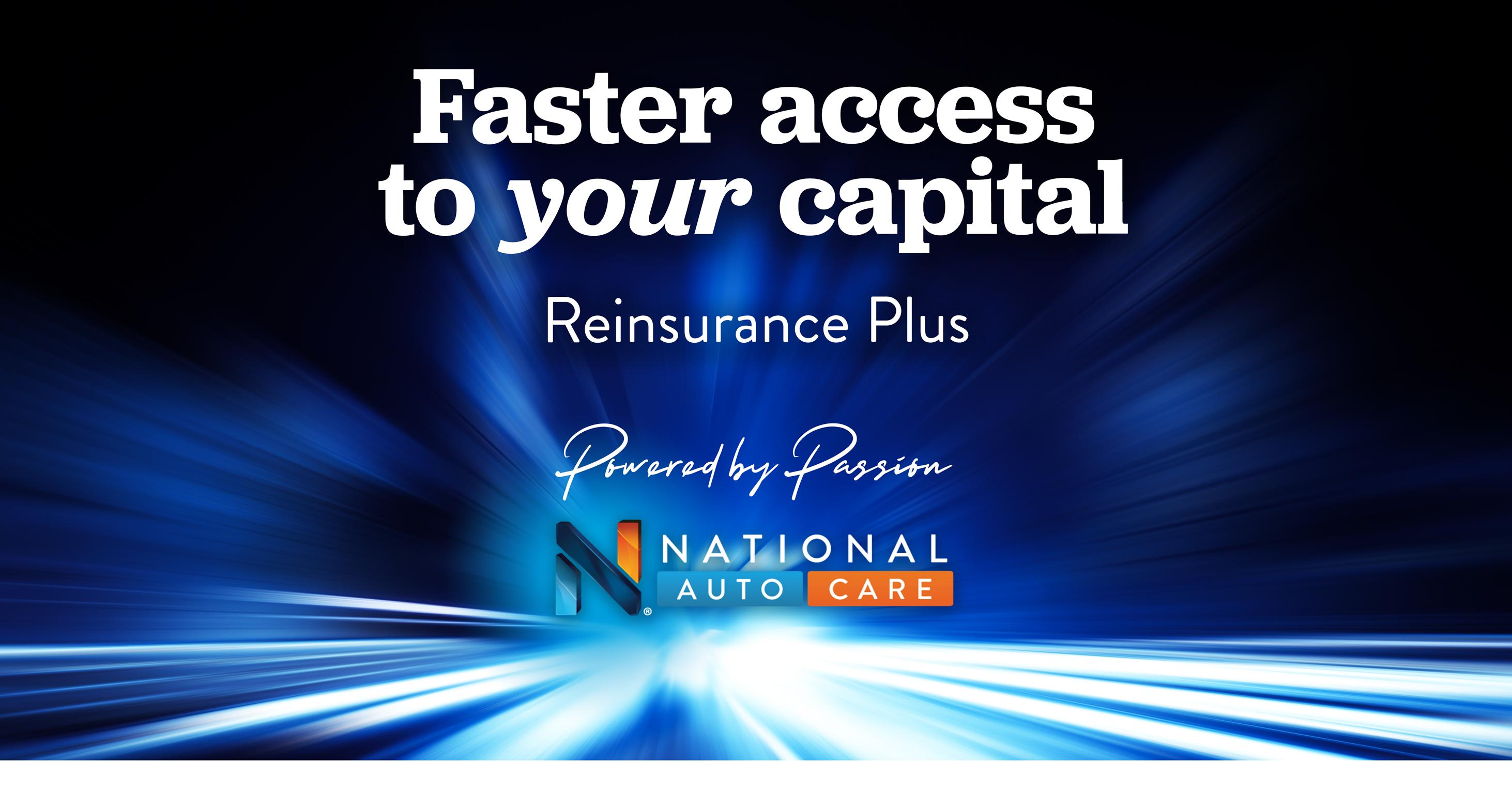National Auto Care launches Reinsurance Plus