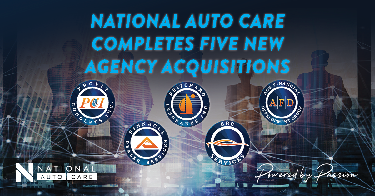 National Auto Care Furthering Aggressive Growth Strategy With Five Acquisitions