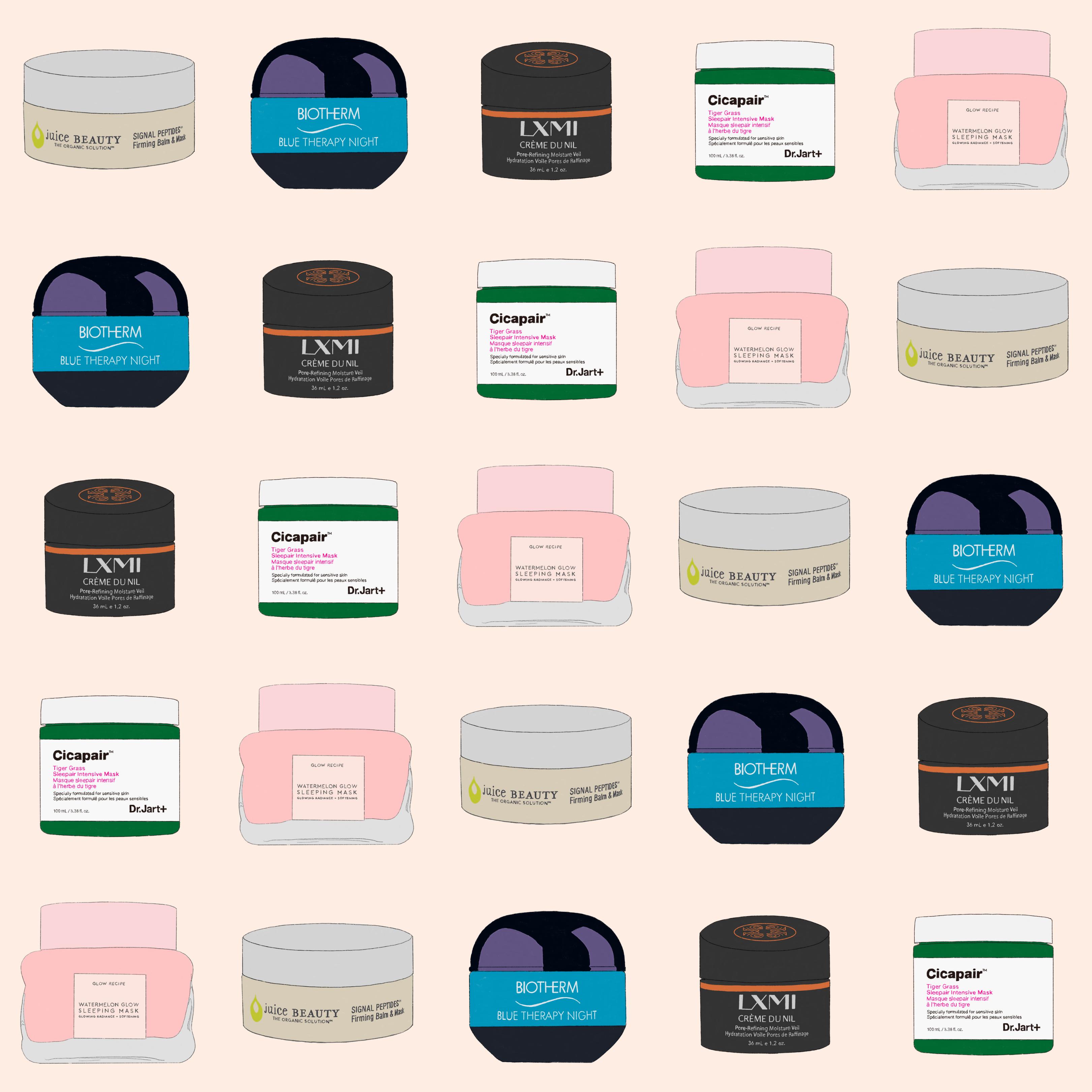 night creams sephora illustration