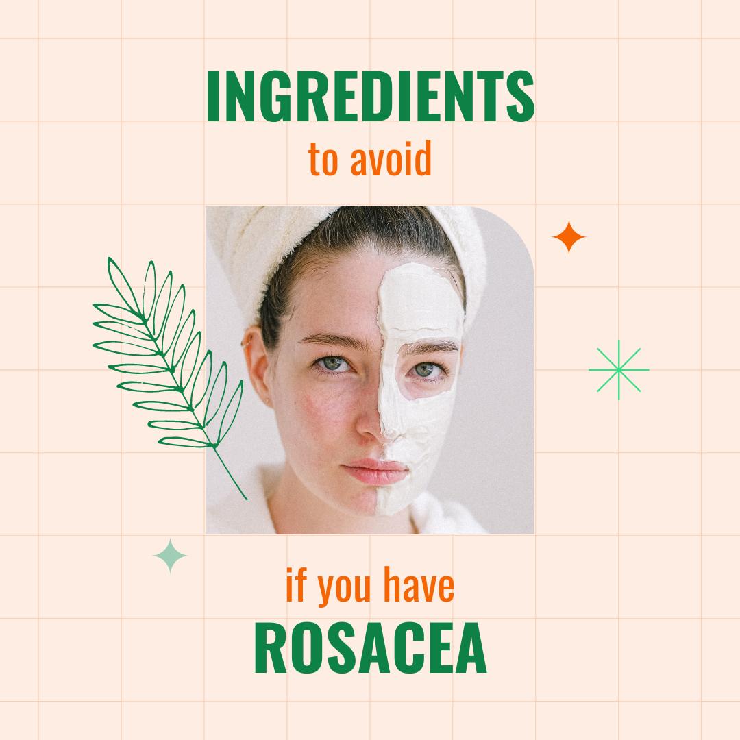 rosacea skin image