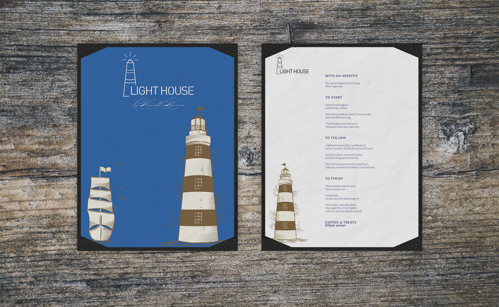 Light House Sample Menu