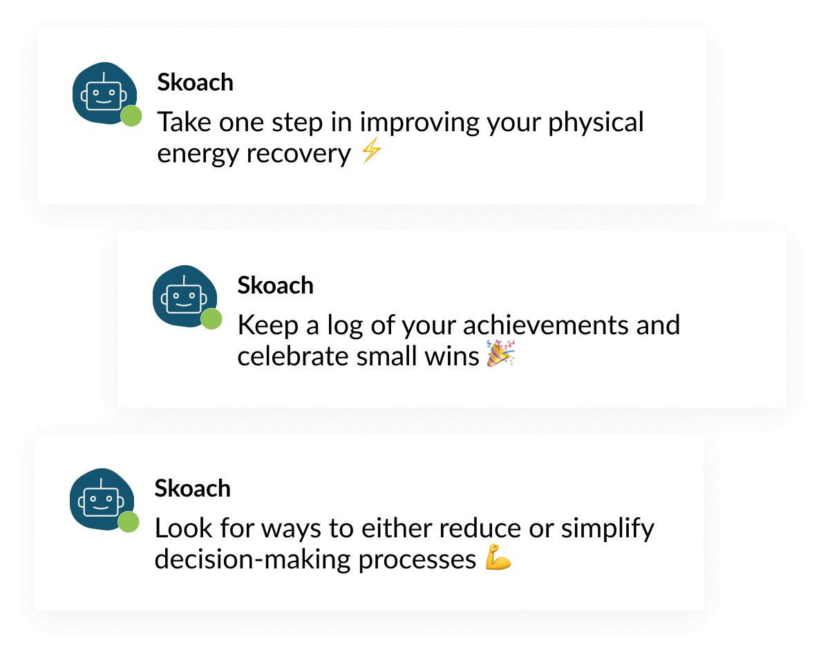 Skoach Challenges Self Management