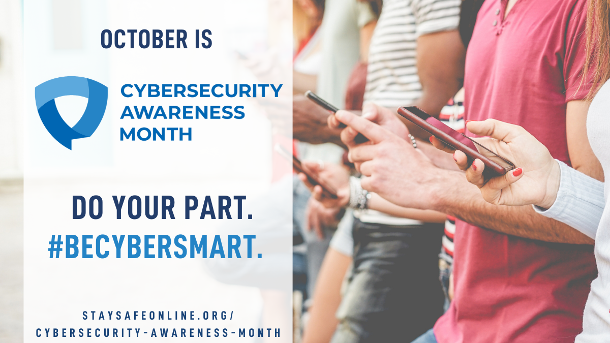 It's Cyber Awareness Month… So!?