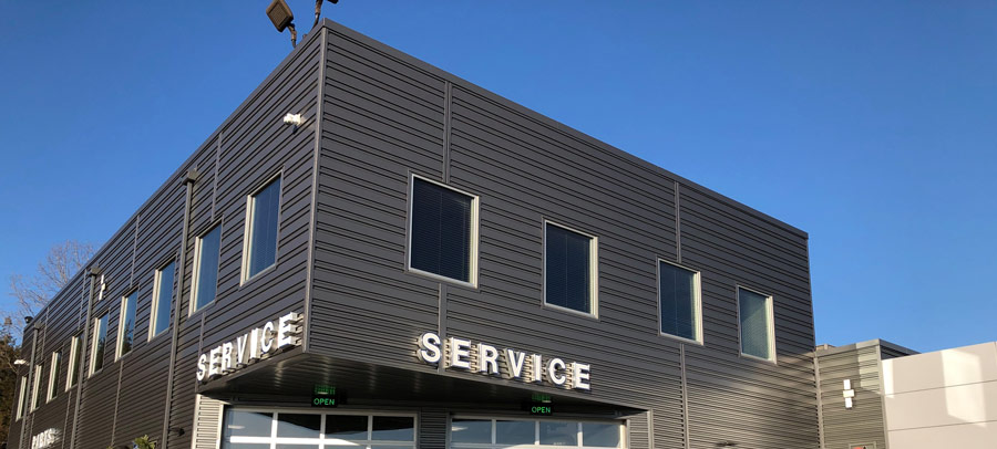Flood Ford: Service Addition and Showroom Renovation
