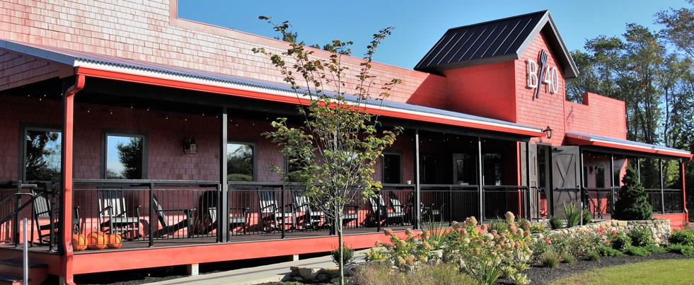 Back Forty Restaurant: Interior & Exterior Renovations
