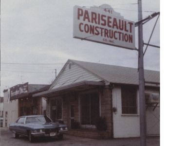 In 1946, Raymond Pariseault and his son Bud, started a small tile & masonry company in Warwick.