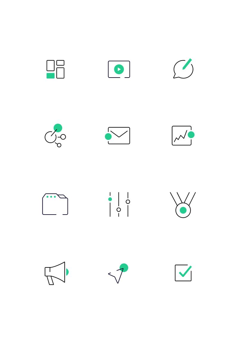 TM icons