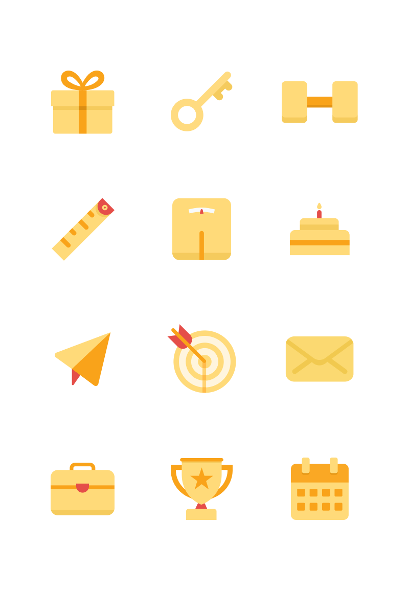 MsFit app icons