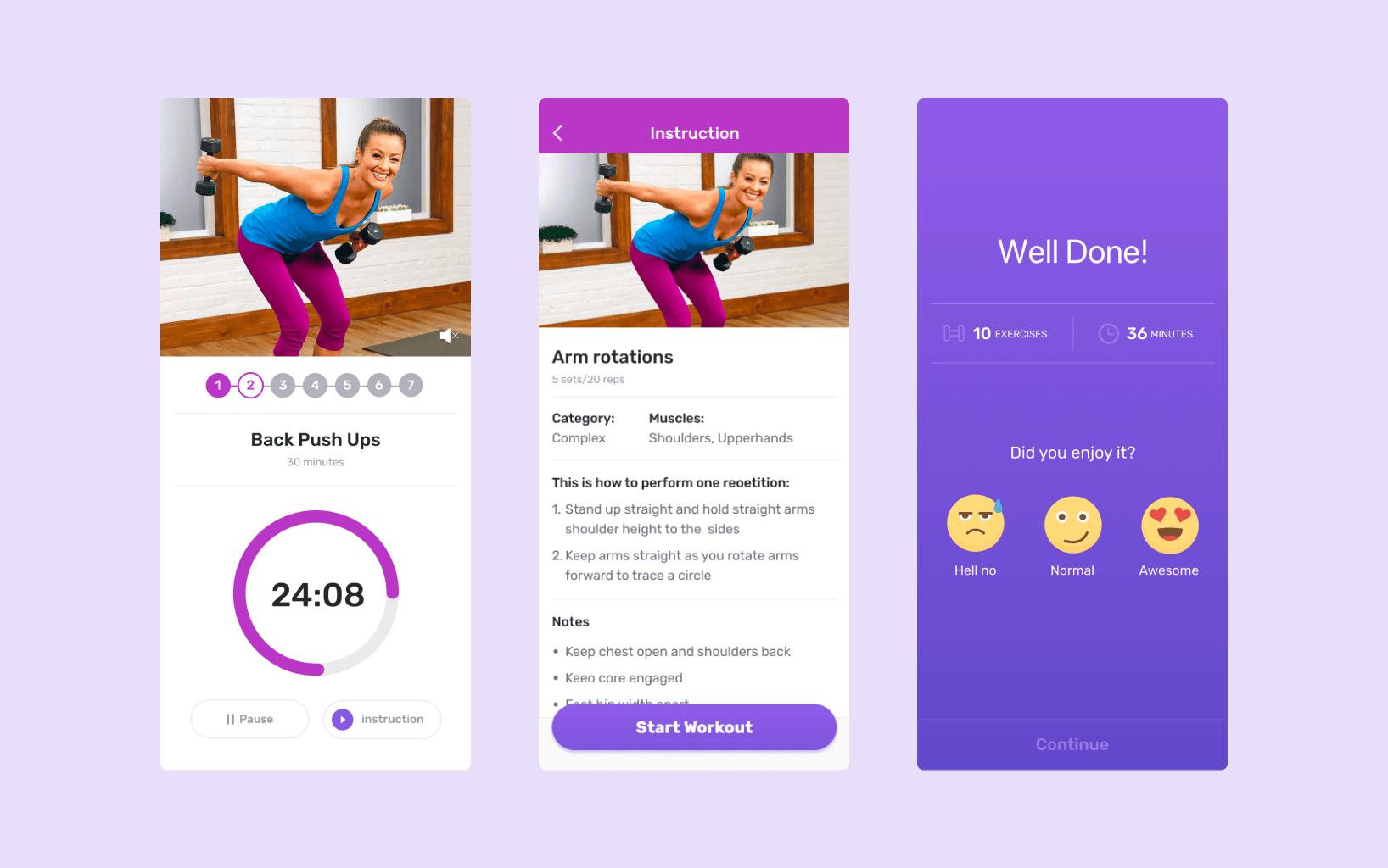 Exercising screen in MsFir