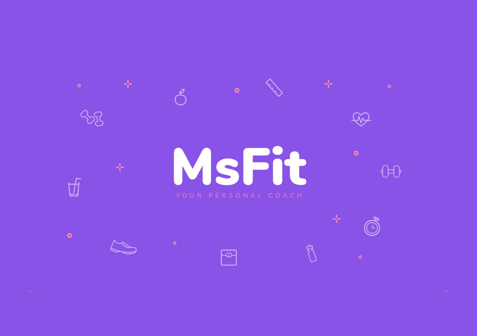 MSFit - online personal coach