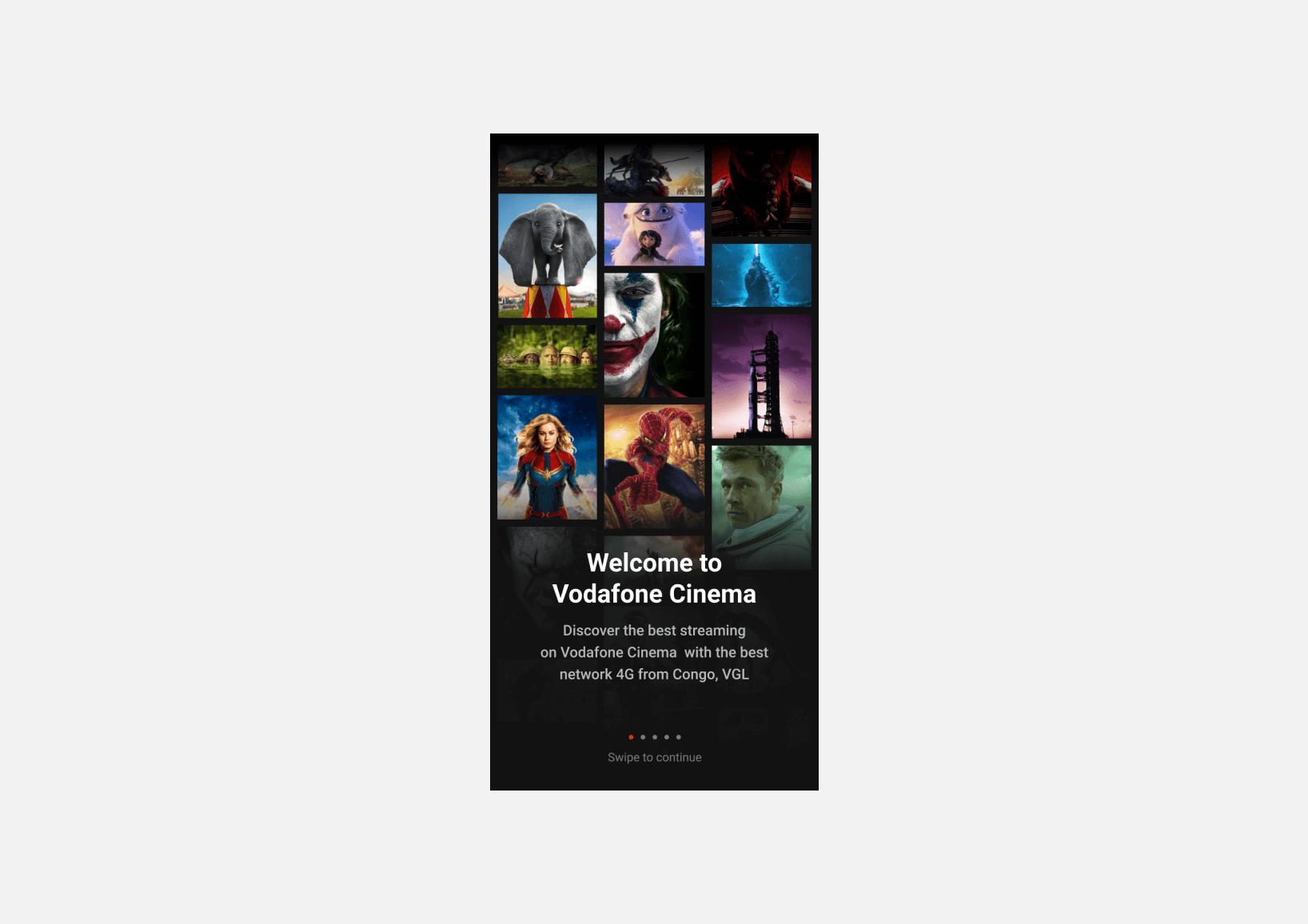 TM web app screenshots