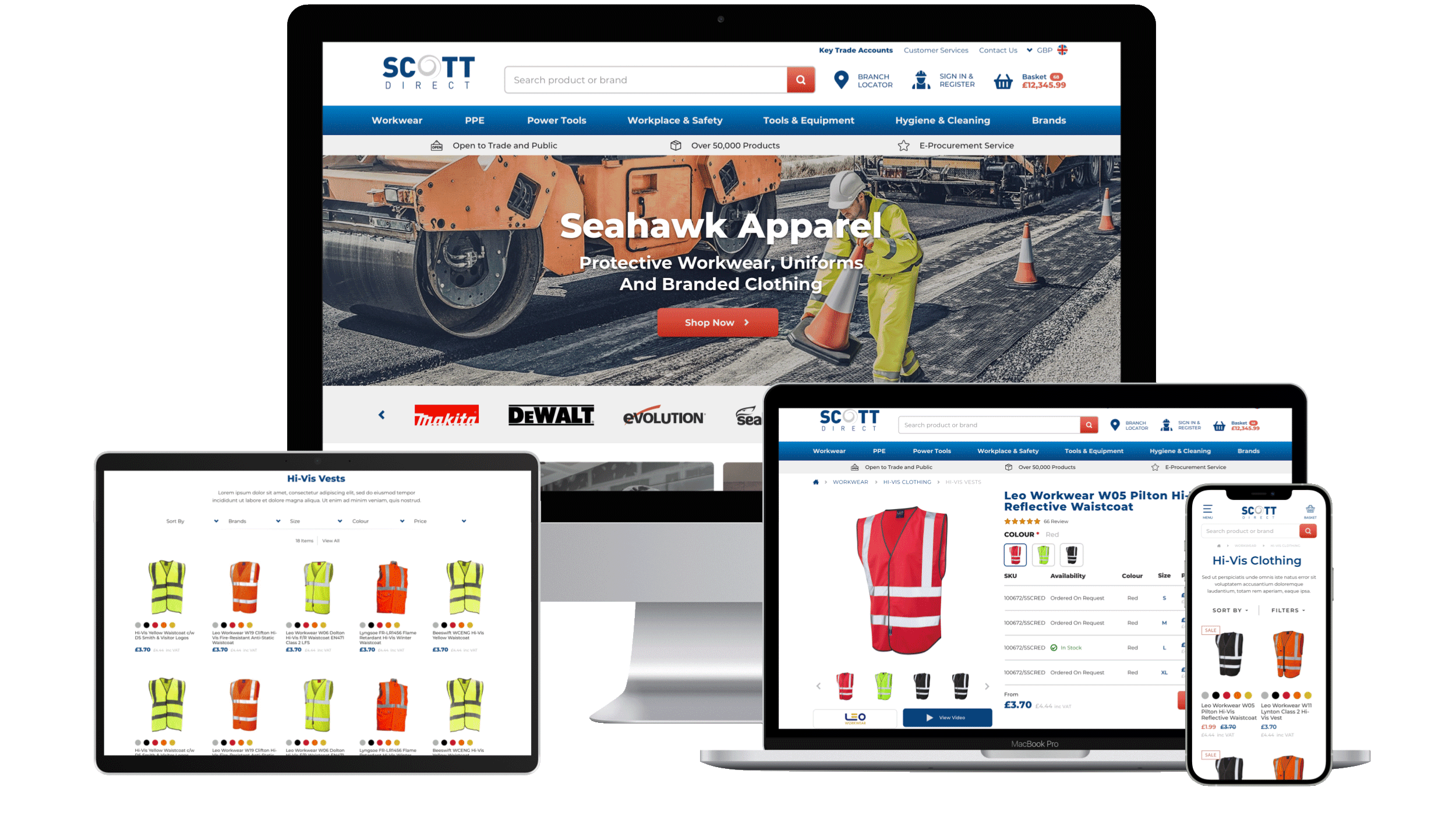 Scott Direct Magento 2 Responsive Design