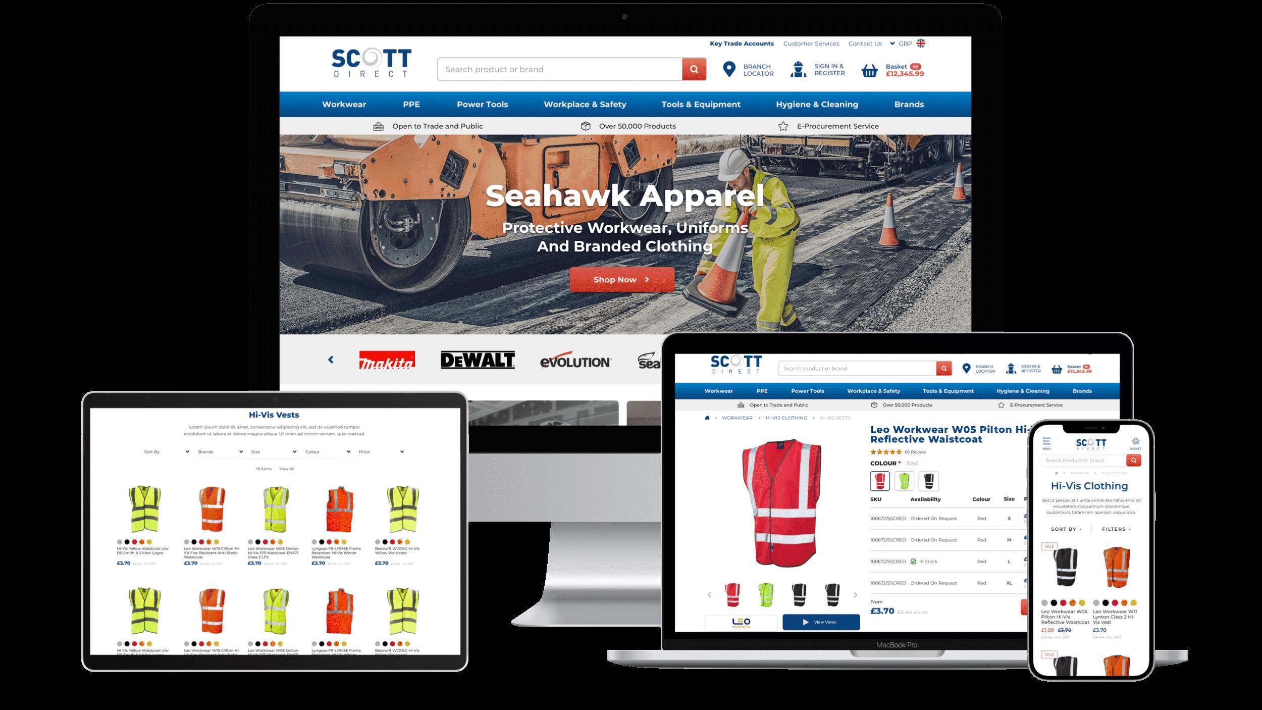 Scott Direct Magento 2 Responsive Design