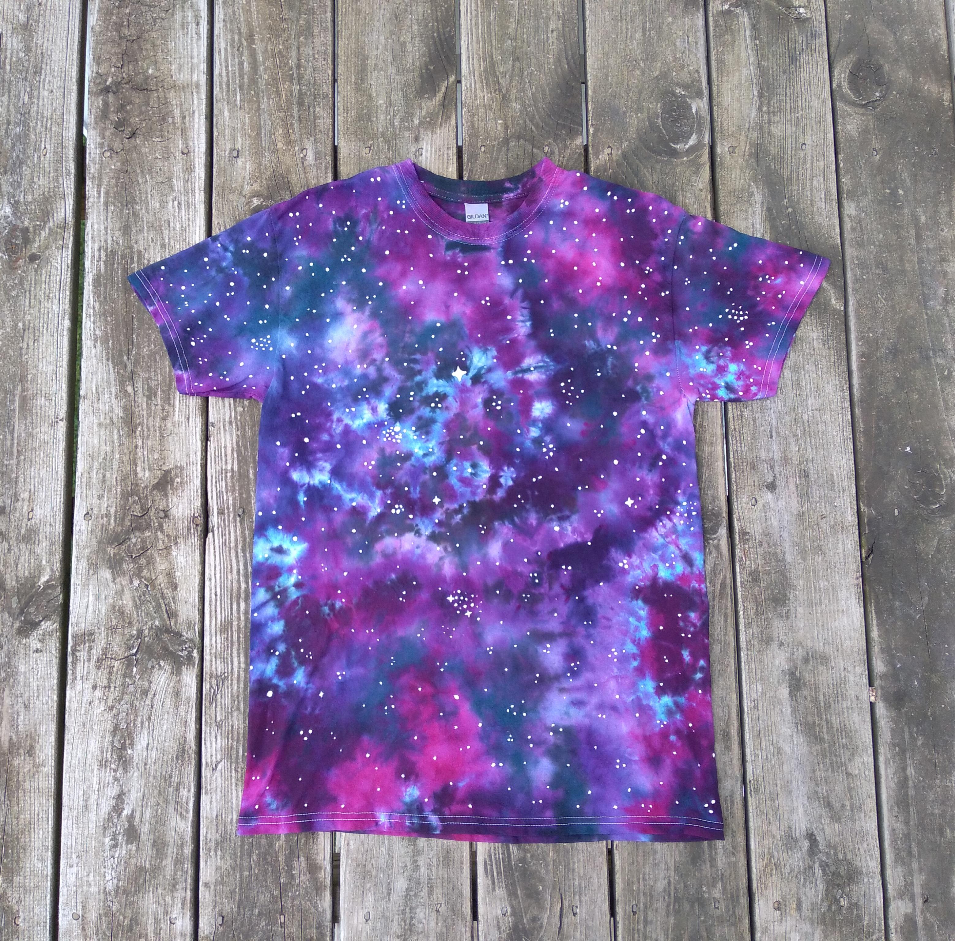 Galaxy/space themed t-shirt