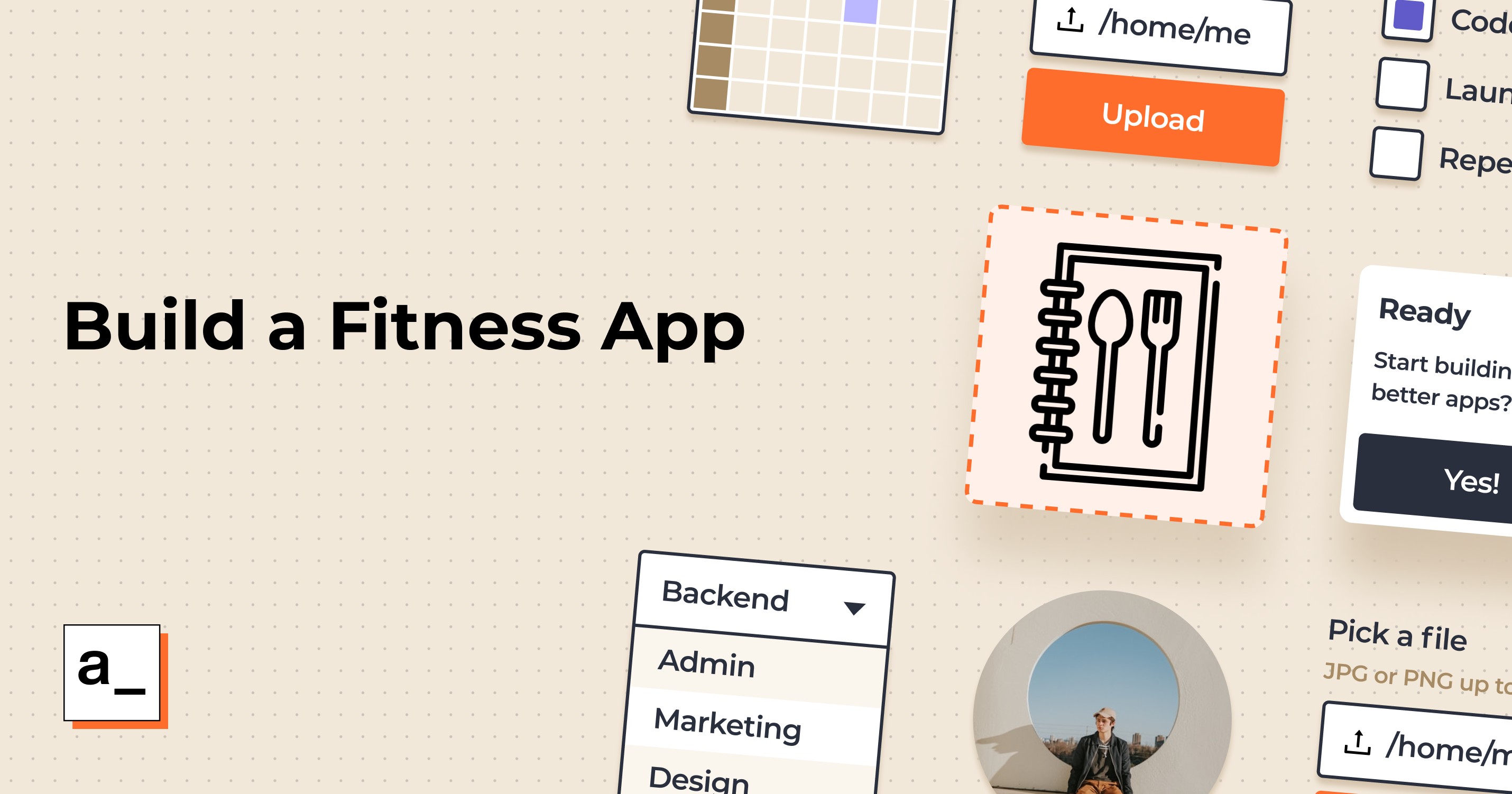 Build Tools for Your Fitness Start-up with Appsmith