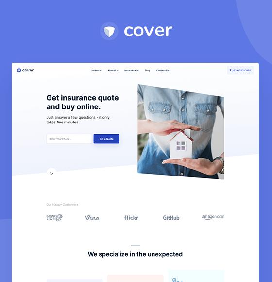 Cover - Webflow Tempalte