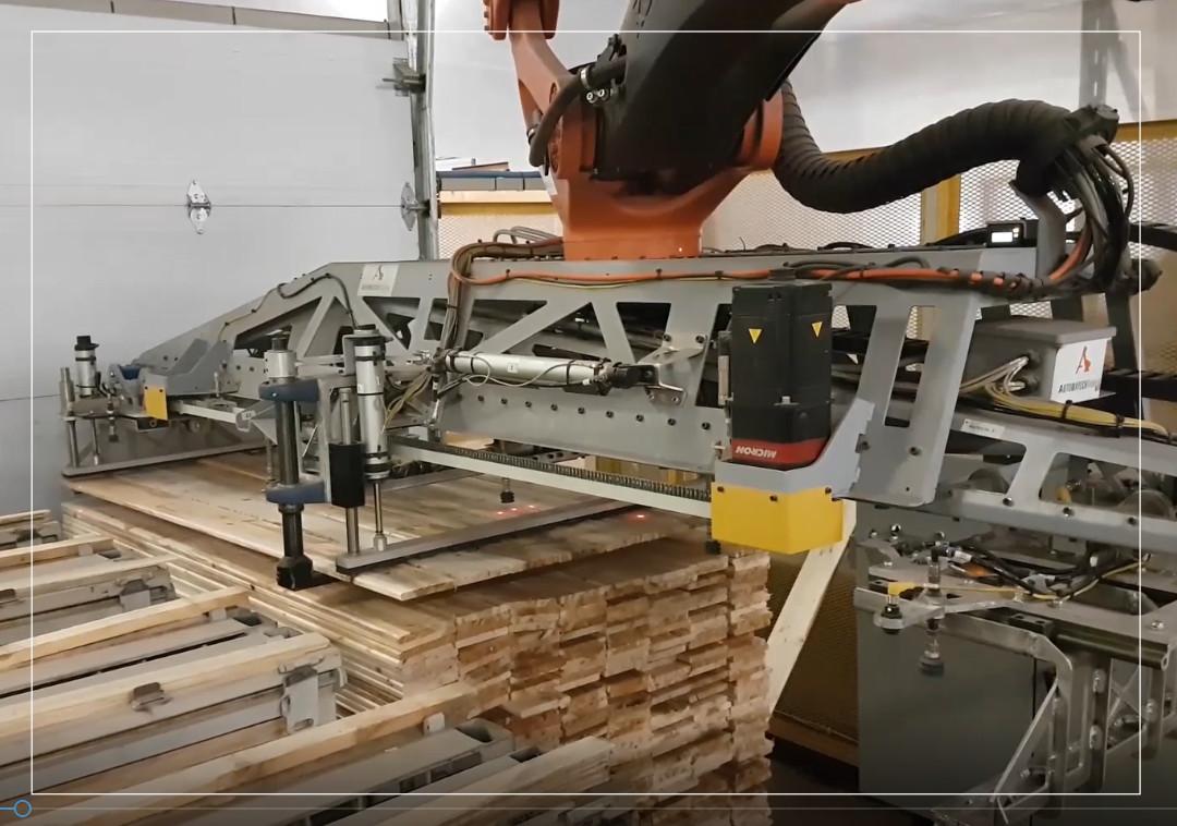 Palettisation: bois de construction