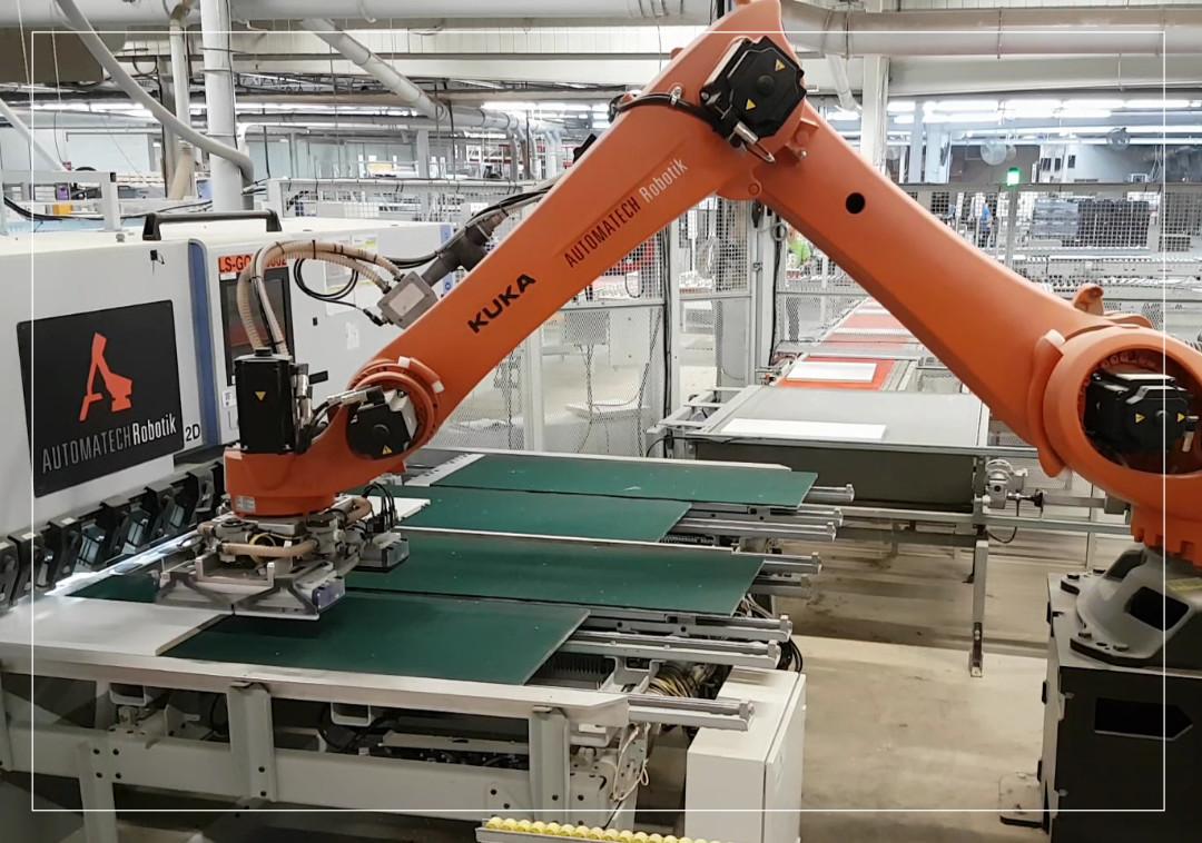 Goujonnage robotisé (Machine Tending)