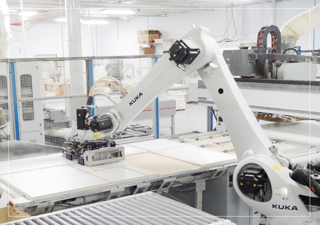 Gestion robotique de machines à commandes numériques