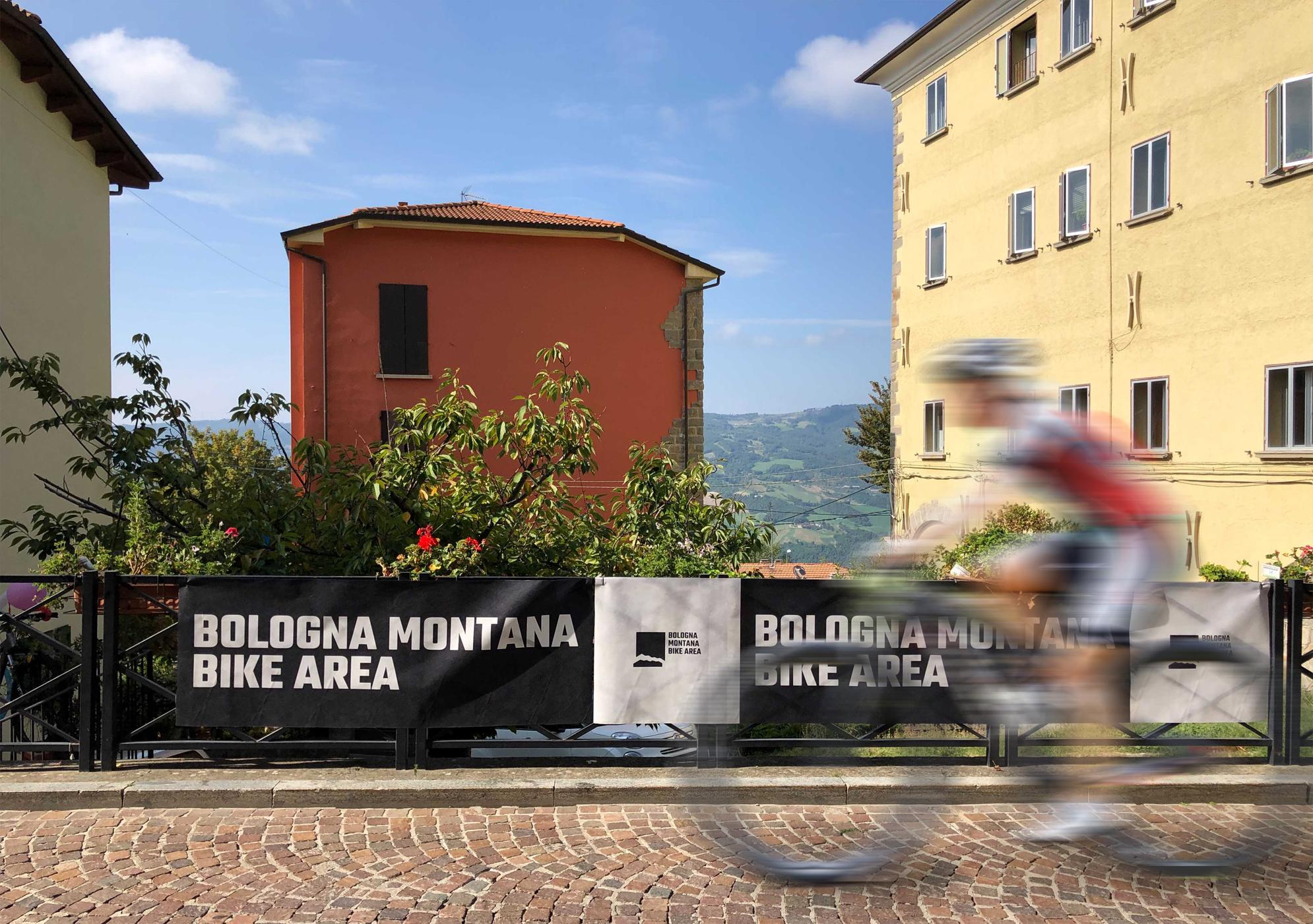 Una fotografia del Bologna Montana Bike Festival a Loiano. Comunicazione web e a stampa a cura di Studio Nilo.