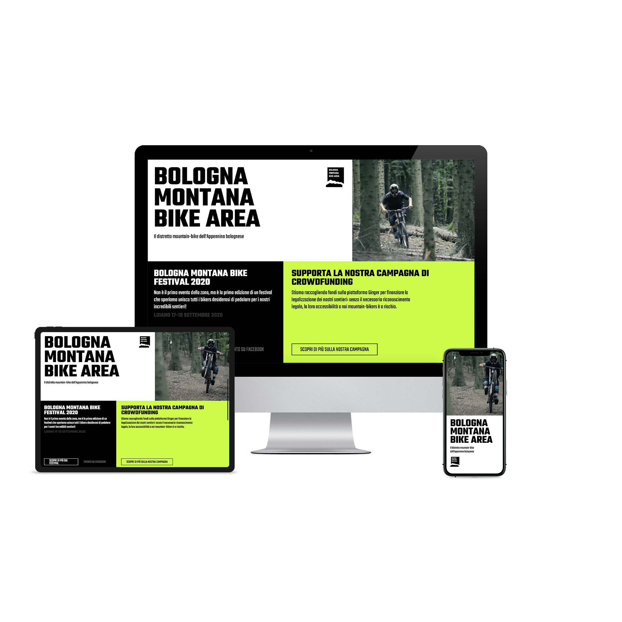 Il sito della Bologna Montana Bike Area. I nostri siti web sono sempre ottimizzati per desktop, tablet e smartphone.
