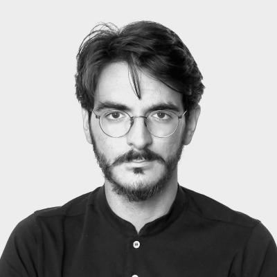 Il fondatore della start-up Hopp, Carlo Ciliberto. Hopp è un nostro cliente del settore dello smart-working.