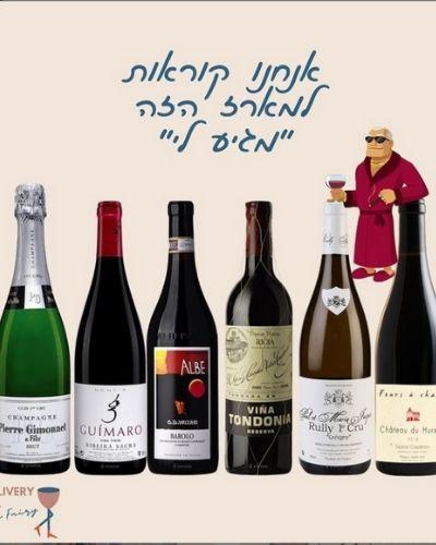מארזי יין של פיות היין