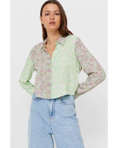 חולצת קרופ מכופתרת של סטרווידריוס