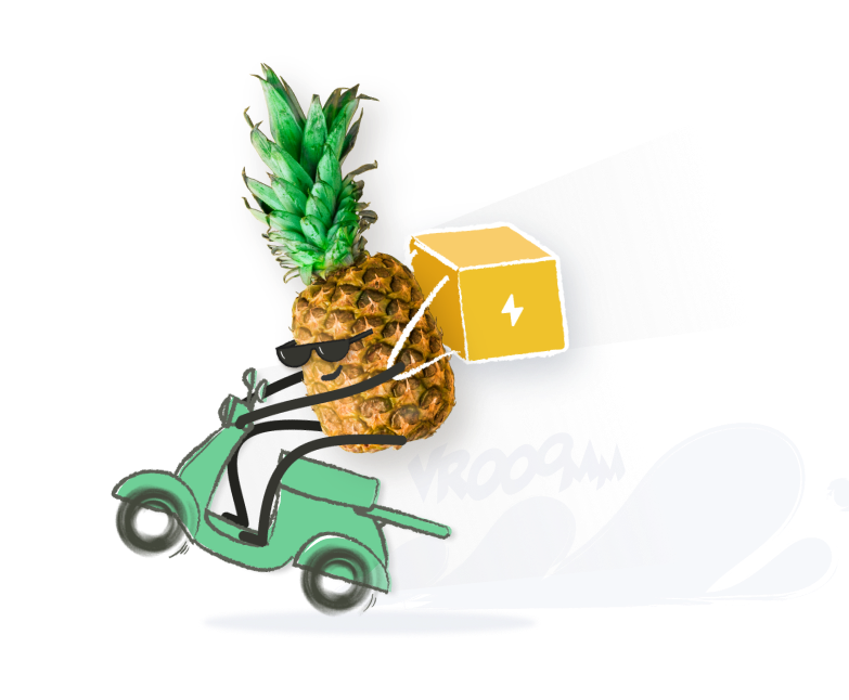 pineapple moped