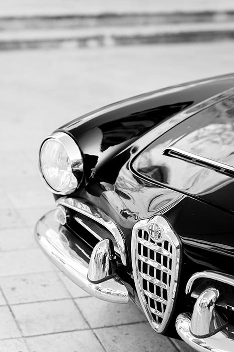 Une voiture pour un mariage et ses détails