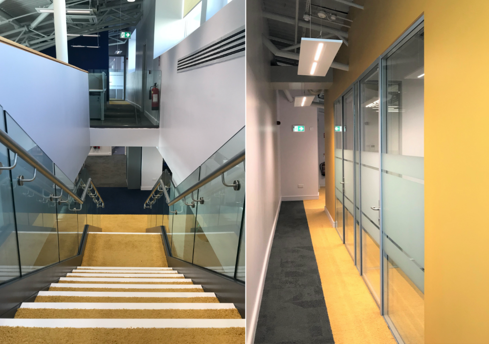 A new entrance lobby, mezzanine, offices and meeting rooms